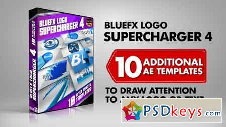 Bluefx - Logo Supercharger 4 After Effects Template