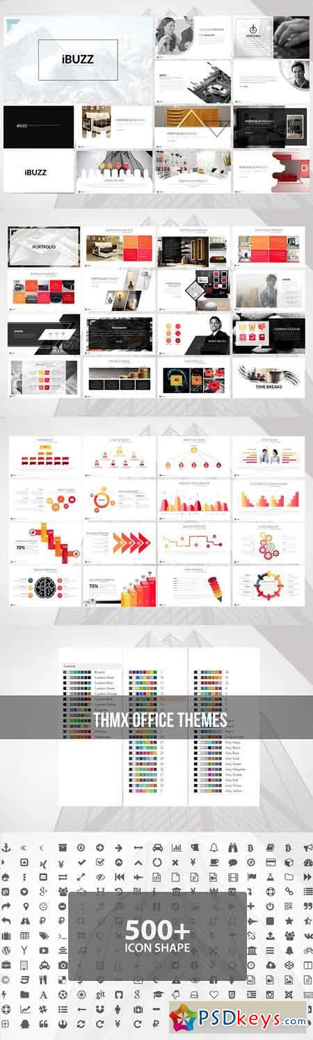 iBuzz Powerpoint Template 2709617