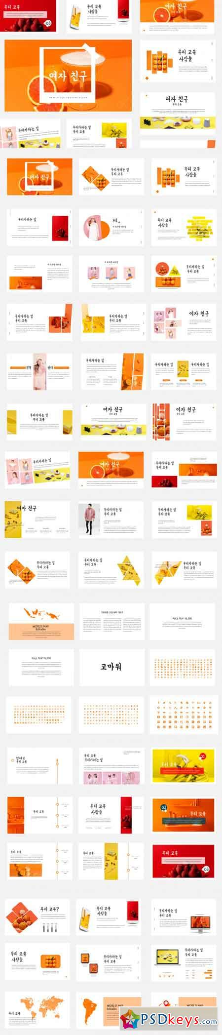Yeoja Chingu - Multipupose Presentation Template 3465924