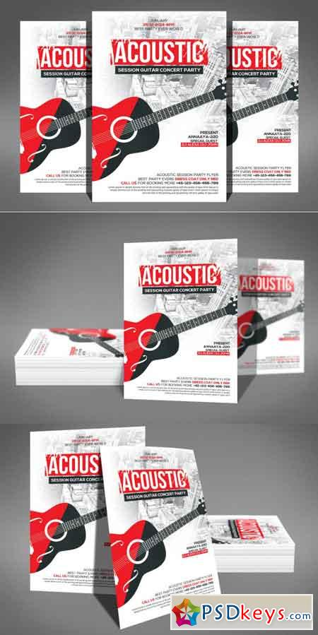 Acoustic Session Flyer 3466616