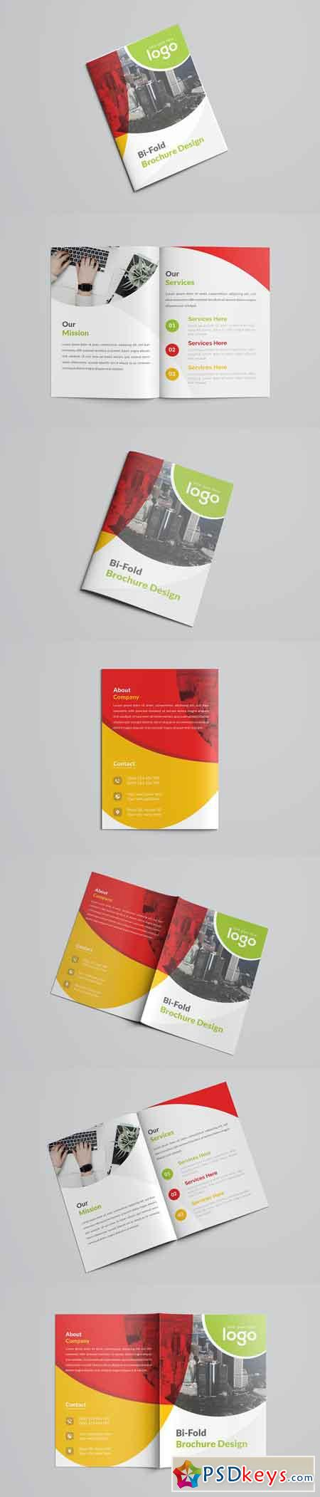 Colorful Business Bifold Brochure 2632902