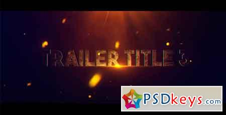 Trailer Title 3 After Effects Template 19295373