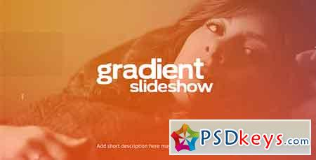 Gradient Slideshow After Effects Template 19453338