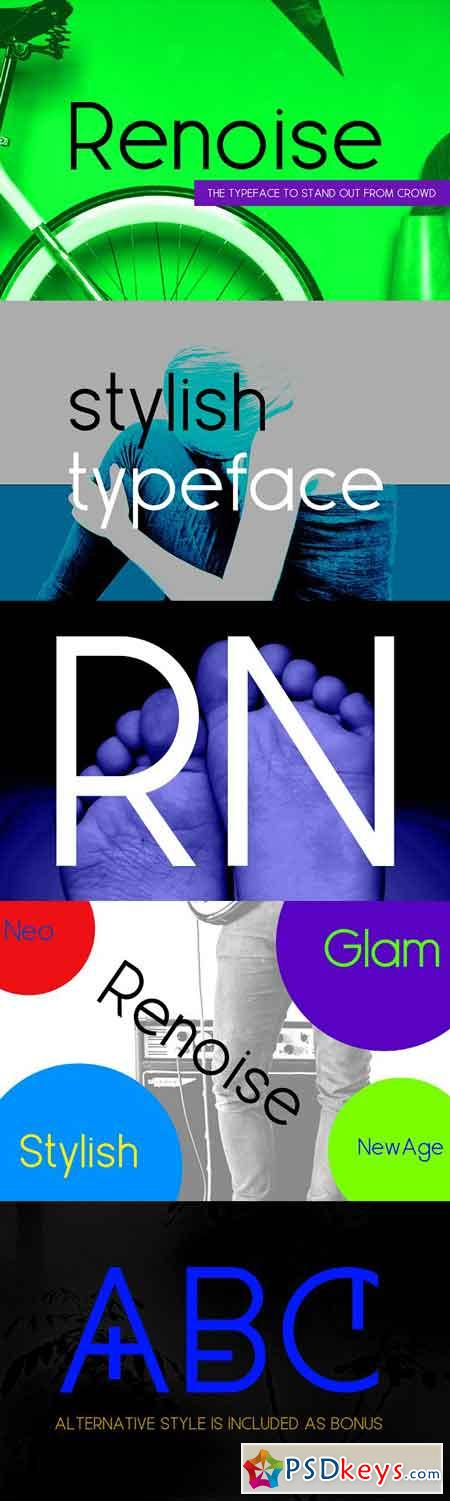 Renoise - A Stylish New Age Typeface 2651988