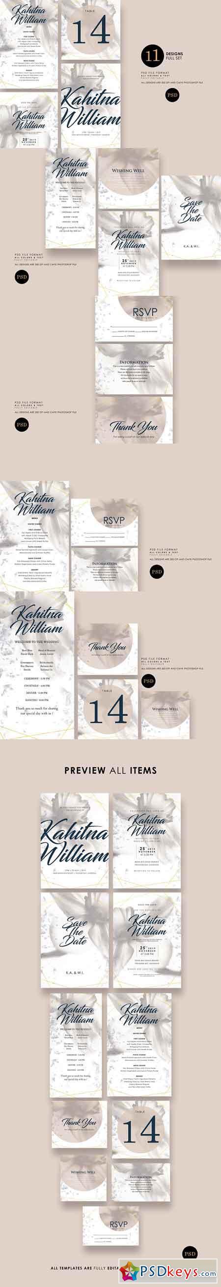 Classic Wedding Invitation Ac.9 2685112