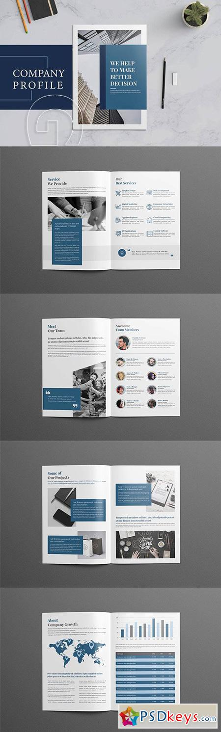 Company Profile Business Brochure
