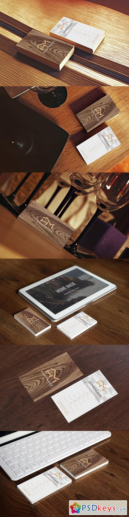 Wooden Business Card 3 2685983