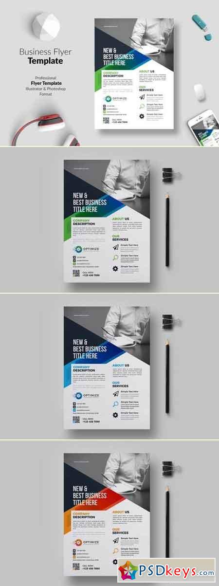 Business Flyer Template 03