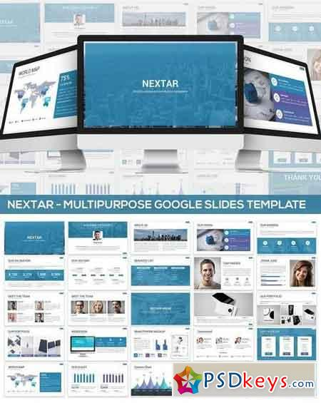 Nextar - Multipurpose Google Slides Template