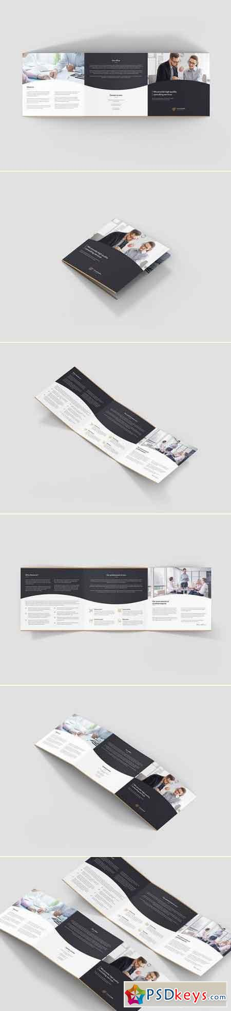 Brochure – Business Consulting Tri-Fold Square