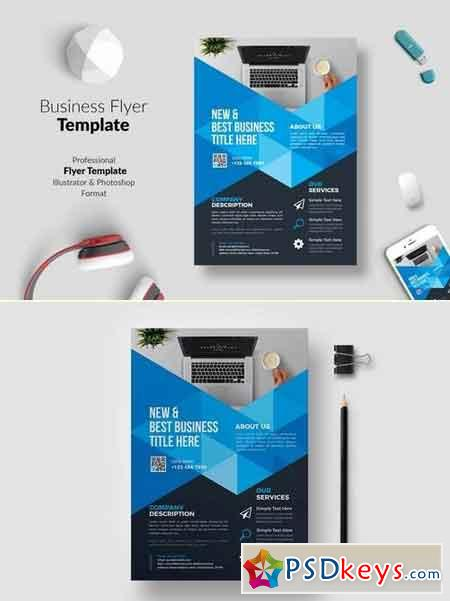 Business Flyer Template 04