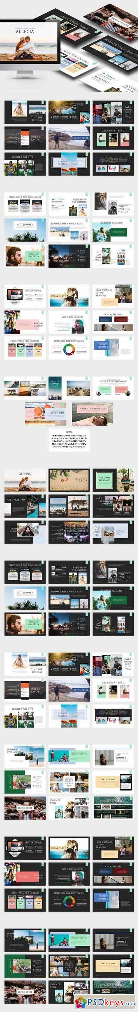 Allecia Summer Powerpoint Template