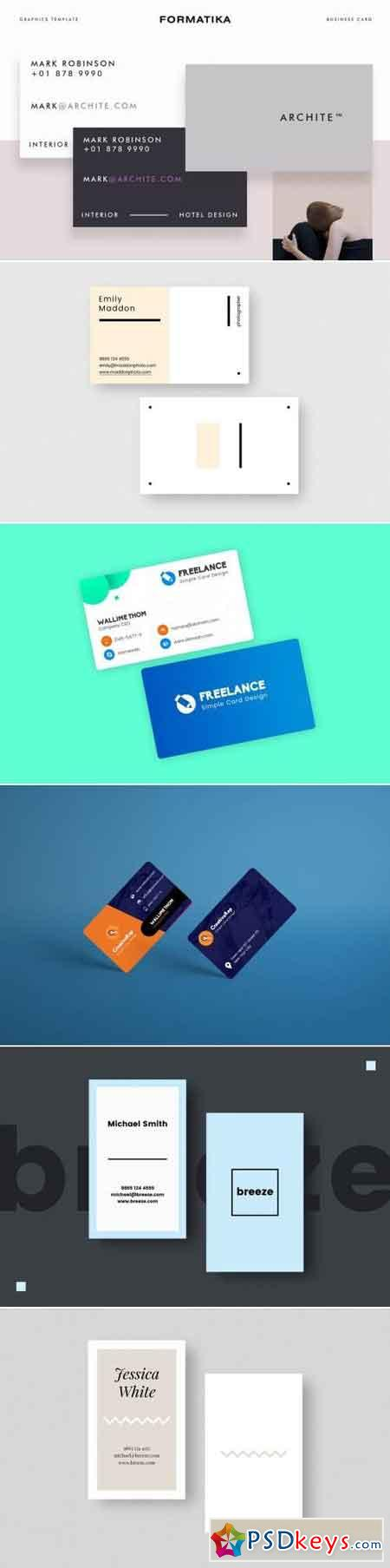 Business Card Bundle 7