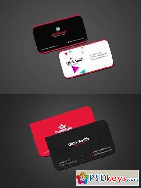 Business Card Template For Designer 2