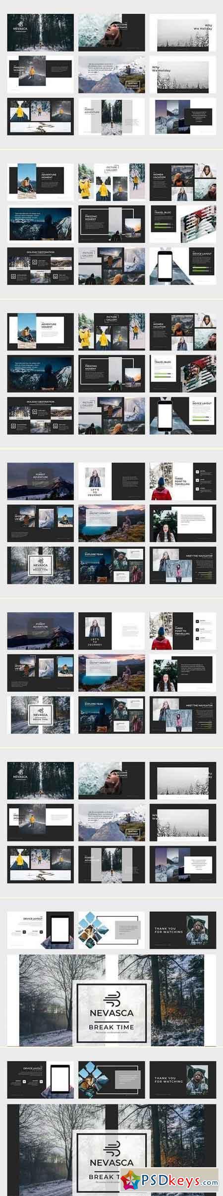 Nevasca Google Slides Template
