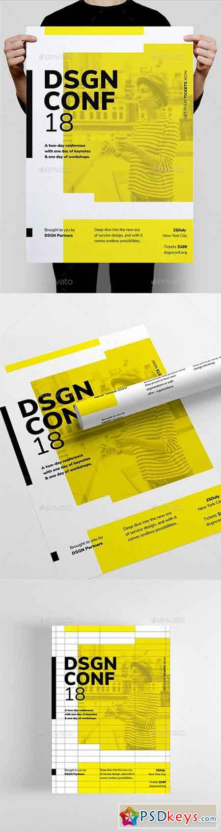 DSGN Series 9 Poster Flyer Template 22172392