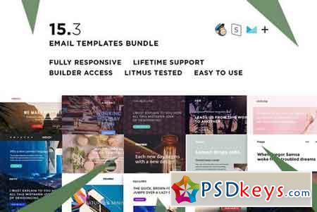 15 Email templates bundle III 2401185