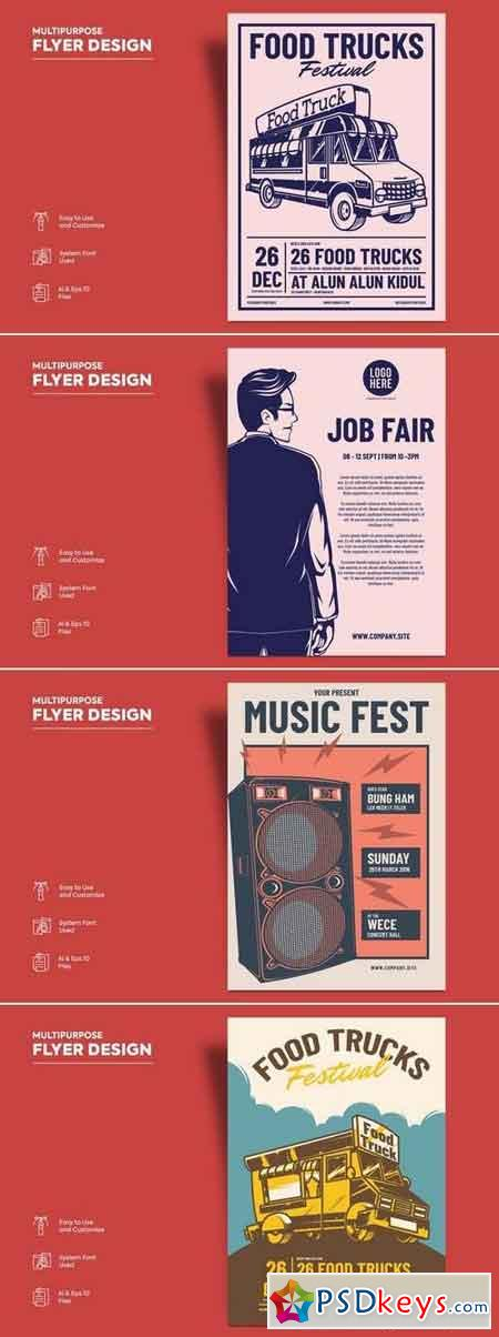 Flyer Design Bundle V2