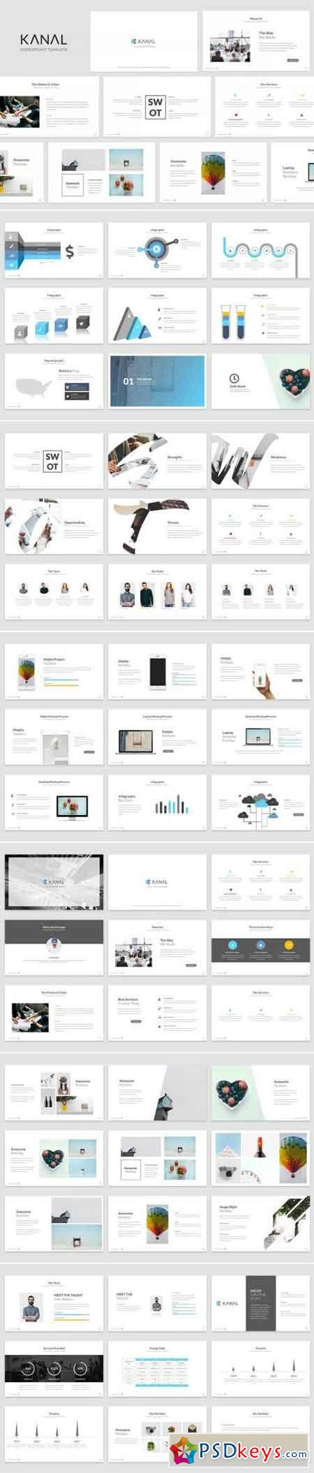 Kanal Powerpoint Template