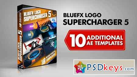Bluefx - Logo Supercharger 5 After Effect Template