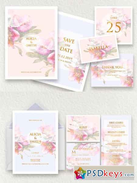 Elegant Wedding Invitation Ac.7 3467912