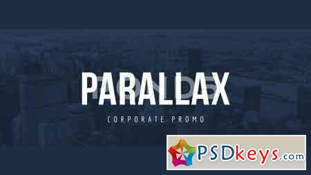 Parallax Corporate Promo After Effect Template