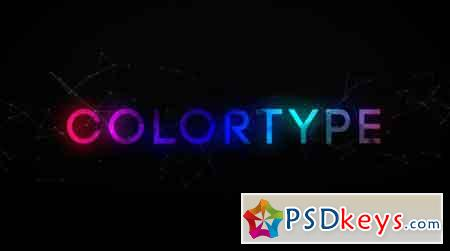 ColorType Text Effects After Effect Template
