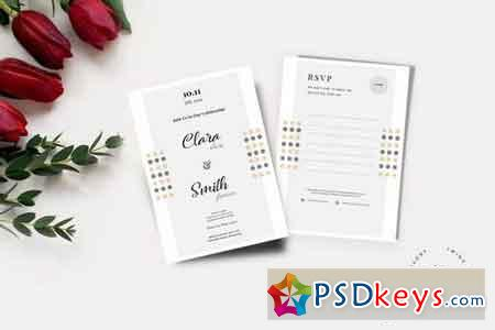 Wedding Invitation & RSVP Cards