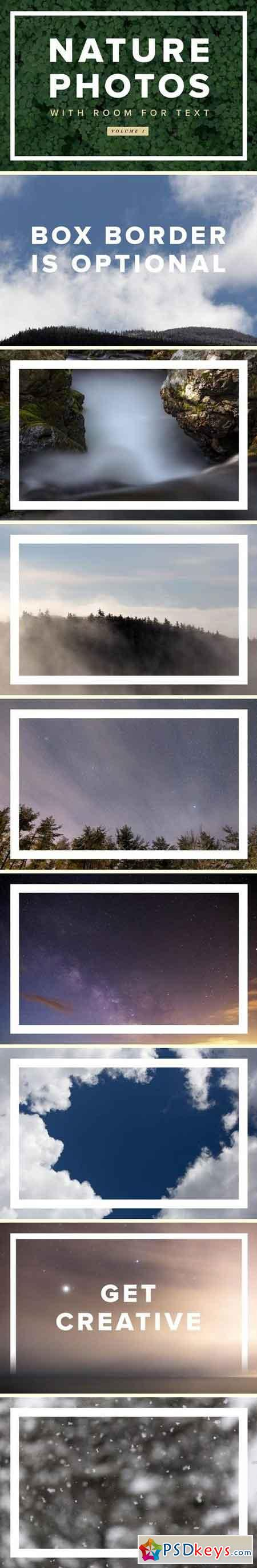 Nature Photos With Room For Text - Volume 1