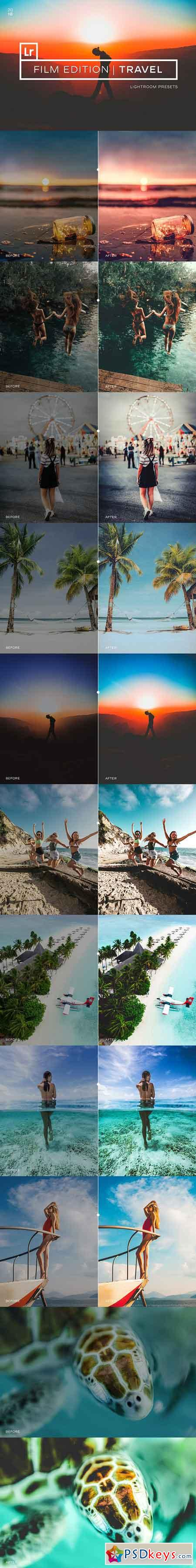 100+ Film Travel Lightroom Presets 2708397