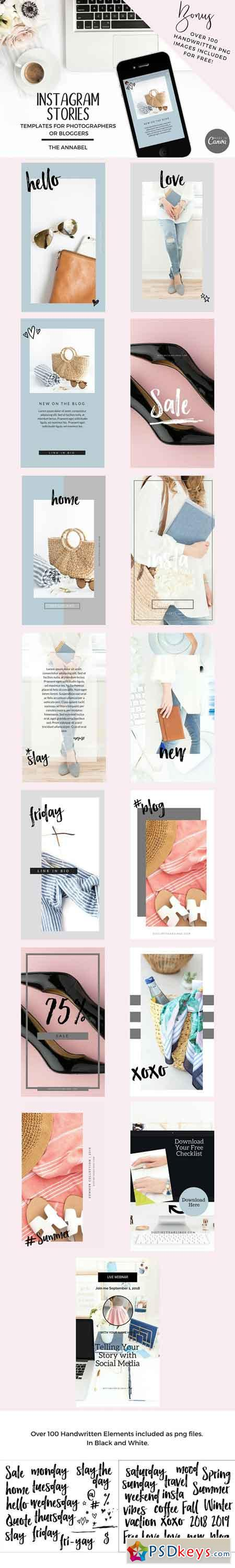 Canva Instagram Stories Template 2709473