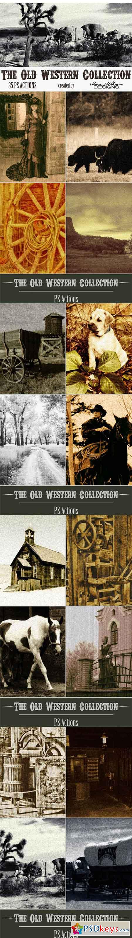 The Old Western Collection Actions 2712122