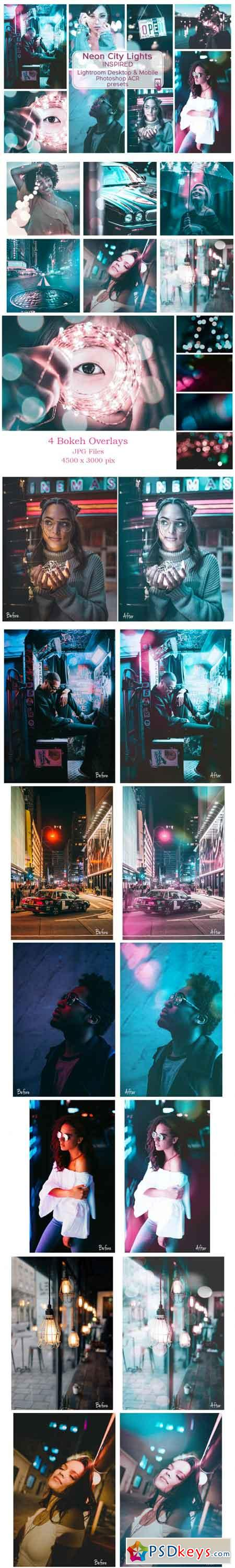 Lr & Ps Presets ACR Neon City Lights 3468626
