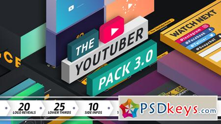 The YouTuber Pack 3.0 After Effect Template 14665678