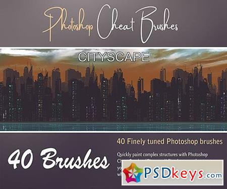 Photoshop Cheat Brushes (CityScape)