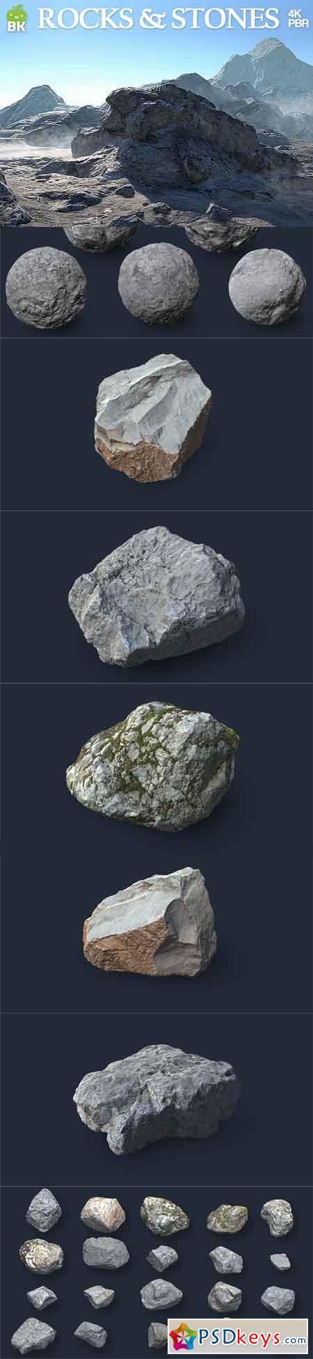 BK - HD Rocks & Stones
