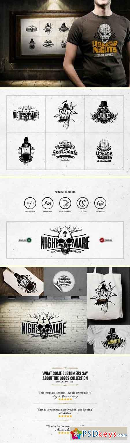 Horror Logo Templates