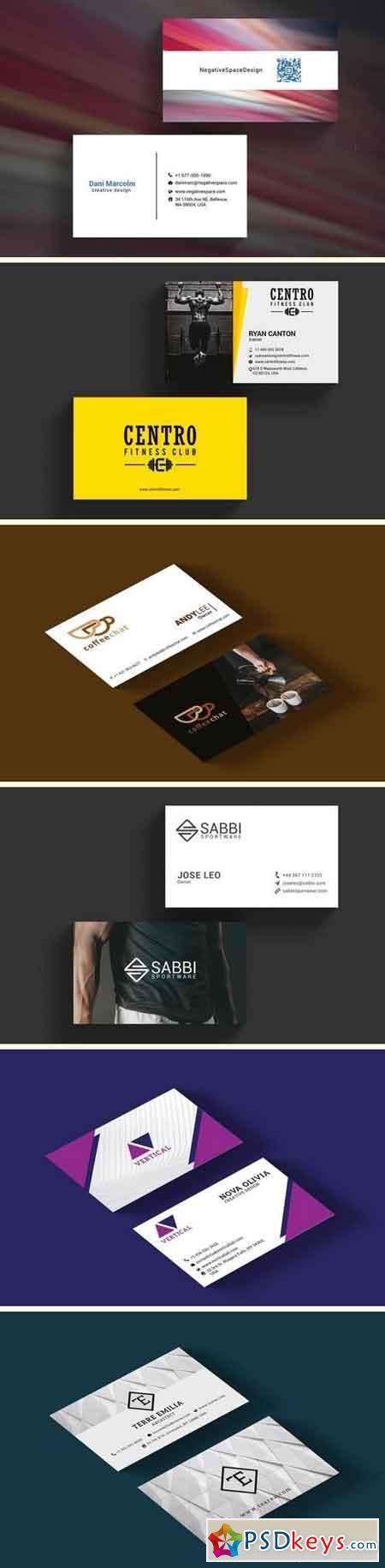 Premium Business Card Bundle