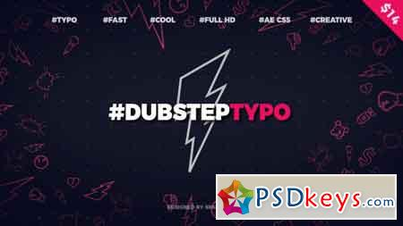 Dubstep Typography (Opener) After Effects Template 20028317