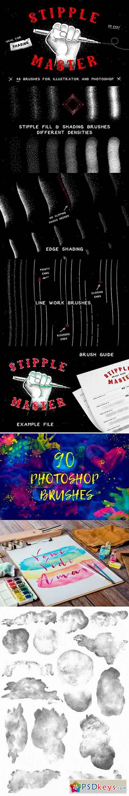 Photoshop Brushes Bundle 1