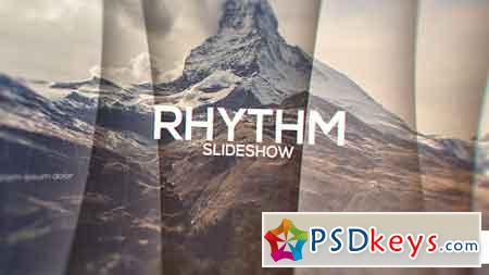 Rhythm Slideshow After Effects Template 14768837