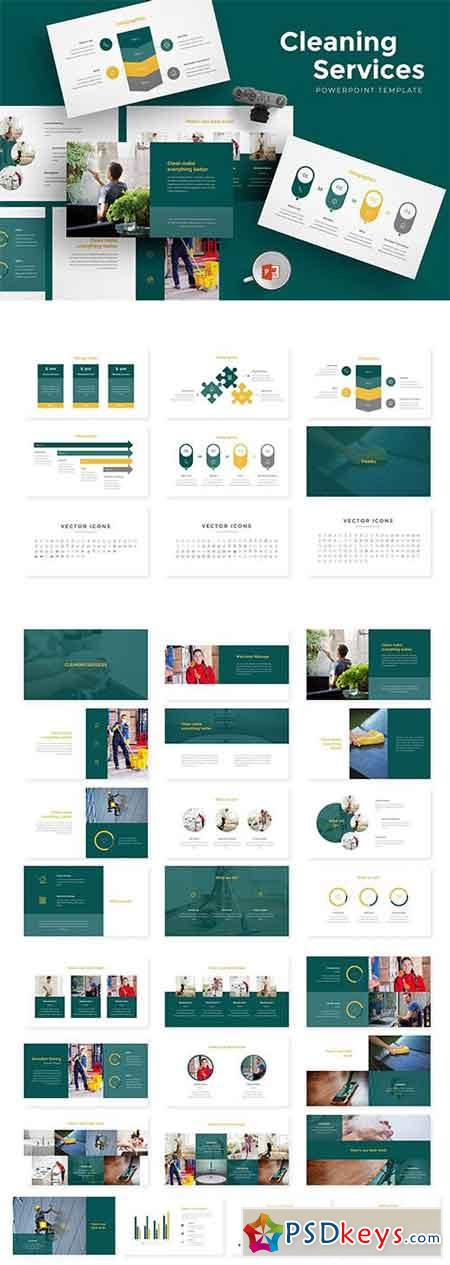 Cleaning Services Powerpoint Template