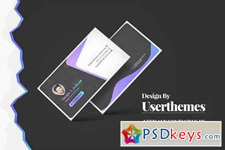 Business cards free download photoshop vector stock image via creative business card template fbccfo Image collections