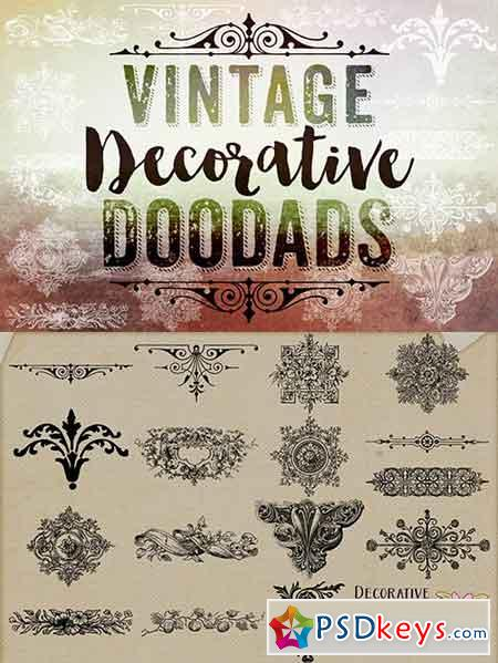 Vintage Decorative Doodads