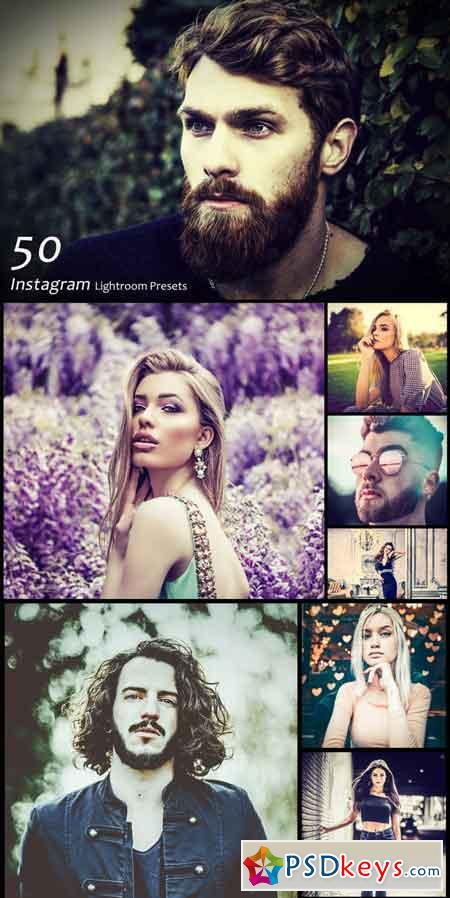 50 Instagram Lightroom Presets 3470631