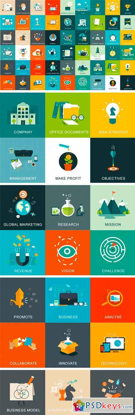 54 Business And Marketing Concepts