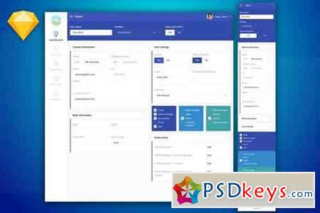 Dashboard Info UI Kit