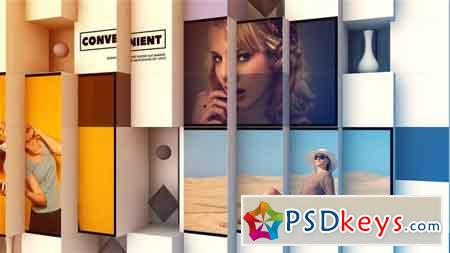 3D Abstract Cube Display 21831977 After Effects Template