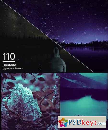 110 Duotone Lightroom Presets 3471865