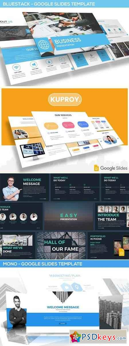 Google Slides Template Master Bundle 3